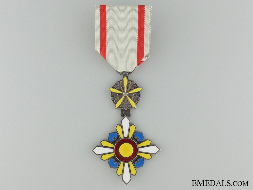eMedals-The Order of the Auspicious Clouds; Sixth Class
