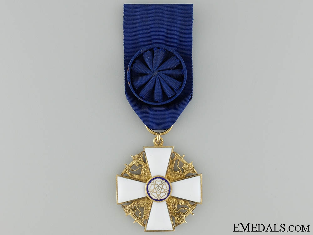 eMedals-The Order of the White Rose of Finland; Officer's Cross