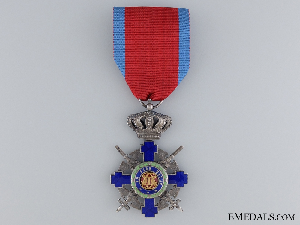 eMedals-The Order of the Star of Romania; Knight with Crossed Swords 1932-1947