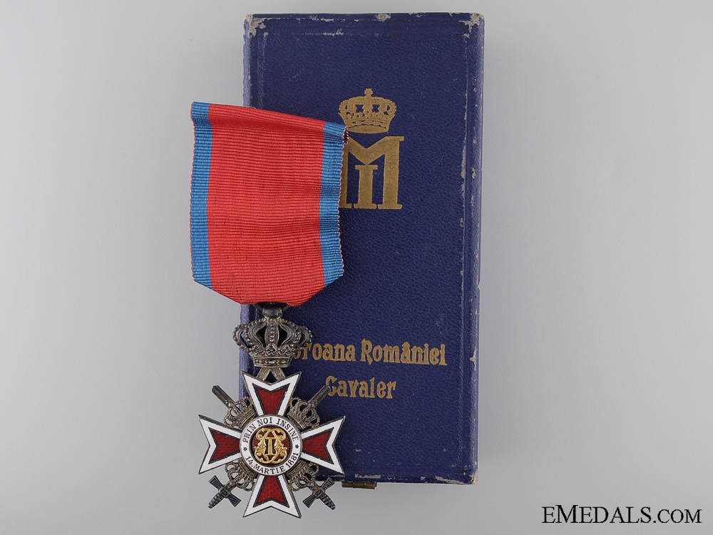 eMedals-The Order of the Crown of Romania; Knight