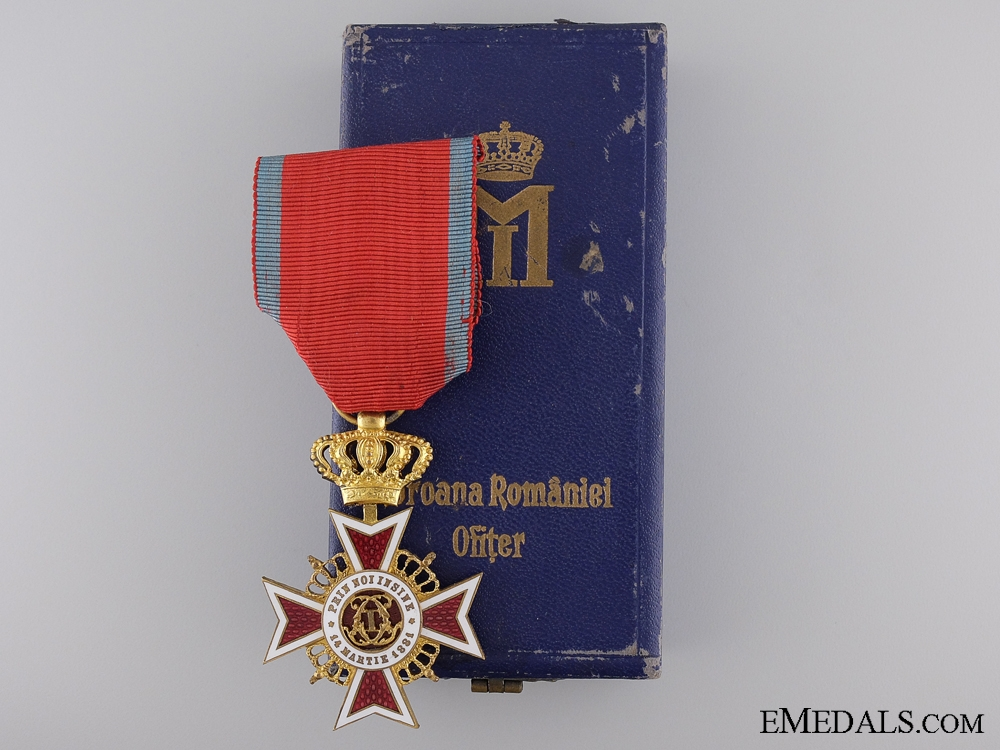 eMedals-The Order of the Crown of Romania; Officer