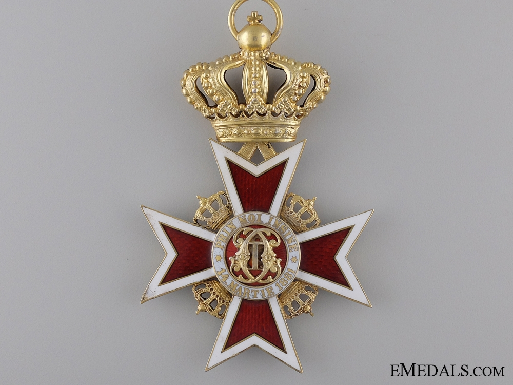 eMedals-The Order of the Romanian Crown 1932-47; Grand Cross by Zimmermann