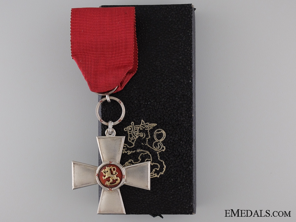 eMedals-The Order of the Lion of Finland; Knight 2nd Class