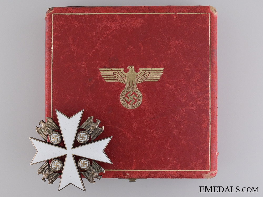 eMedals-The Order of the German Eagle by Godet of Berlin; Second Class