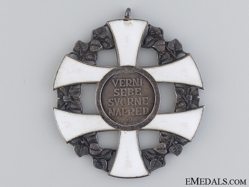 eMedals-The Order of the Slovakian Cross; Grand Cross Badge