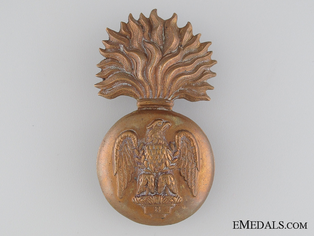 eMedals-The Royal Irish Fusiliers Cap Badge