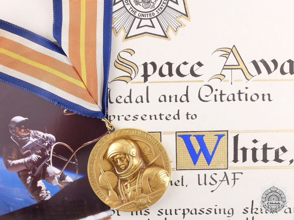 eMedals-The Veteran of Foreign Wars National Space Award to E. White USAF
