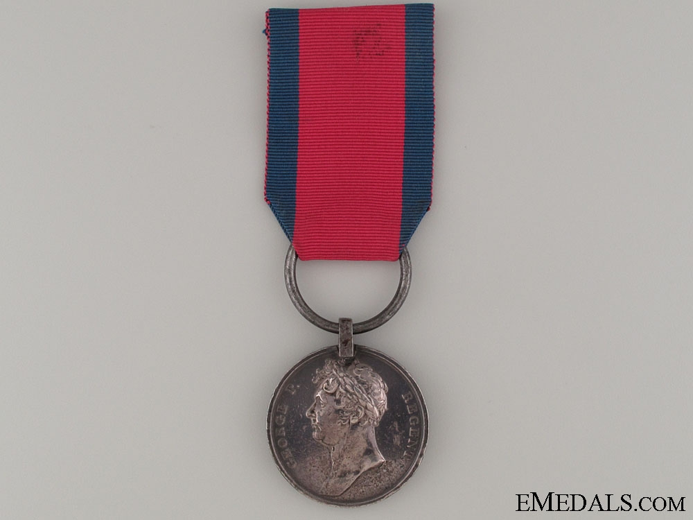 eMedals-The Waterloo Medal 1815 - 4th Regiment of Foot