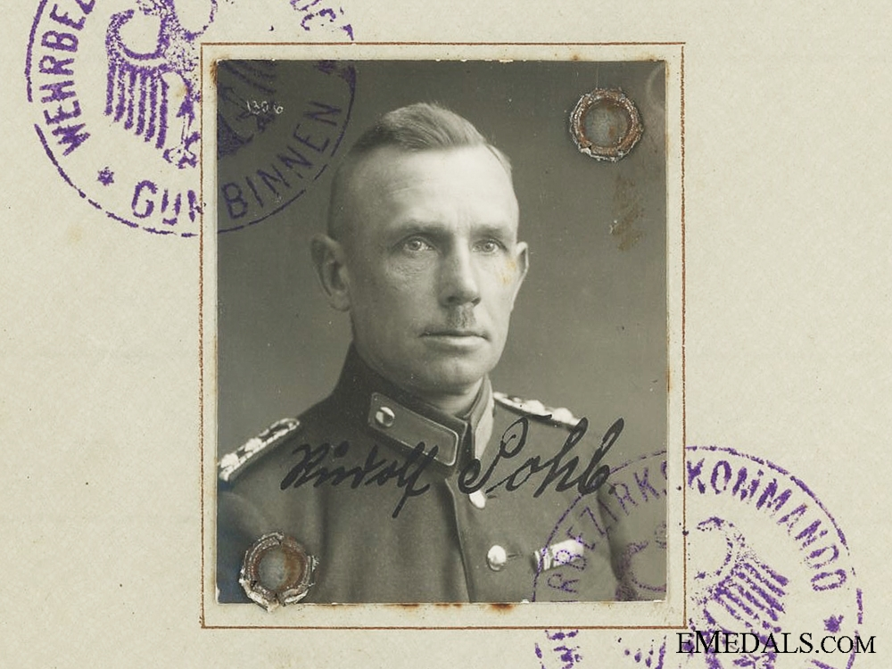 eMedals-The Wehrpass to Senior Master Sentinel; Hungarian Cross