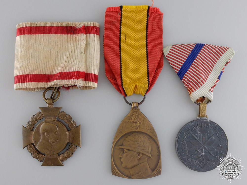 eMedals-Three European Awards and Medals
