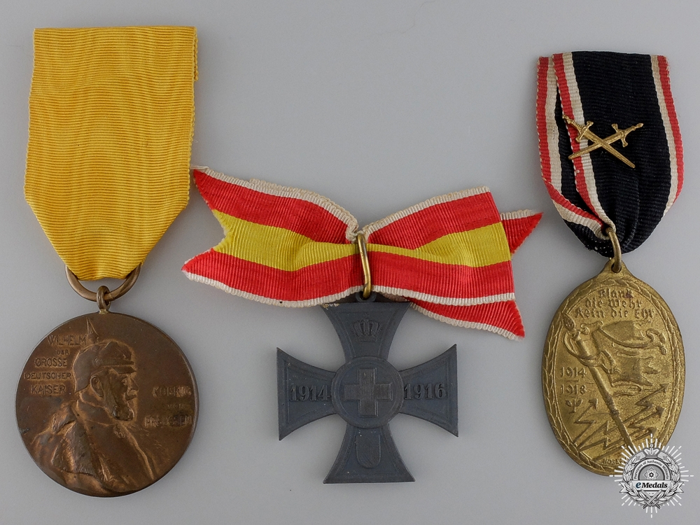 eMedals-Three First War German Imperial Awards