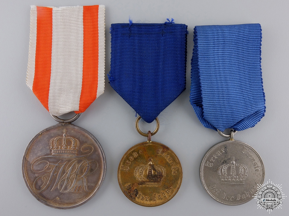 eMedals-Three First War Prussian Medals and Awards