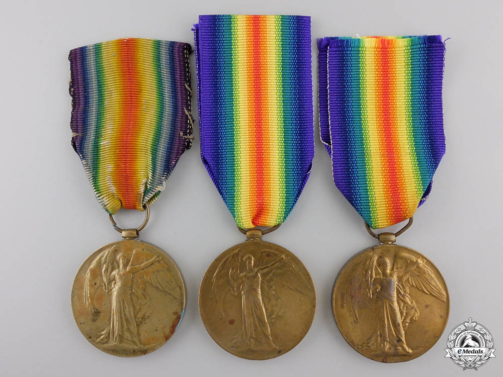 eMedals-Three First War British Victory Medals