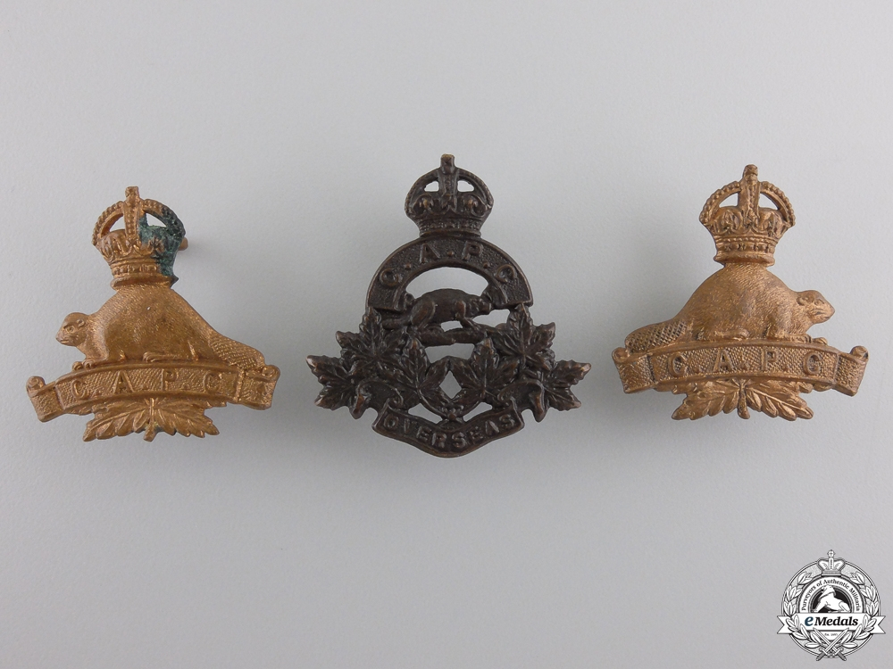 eMedals-Three First War Canadian Army Pay Corps Collar Tabs