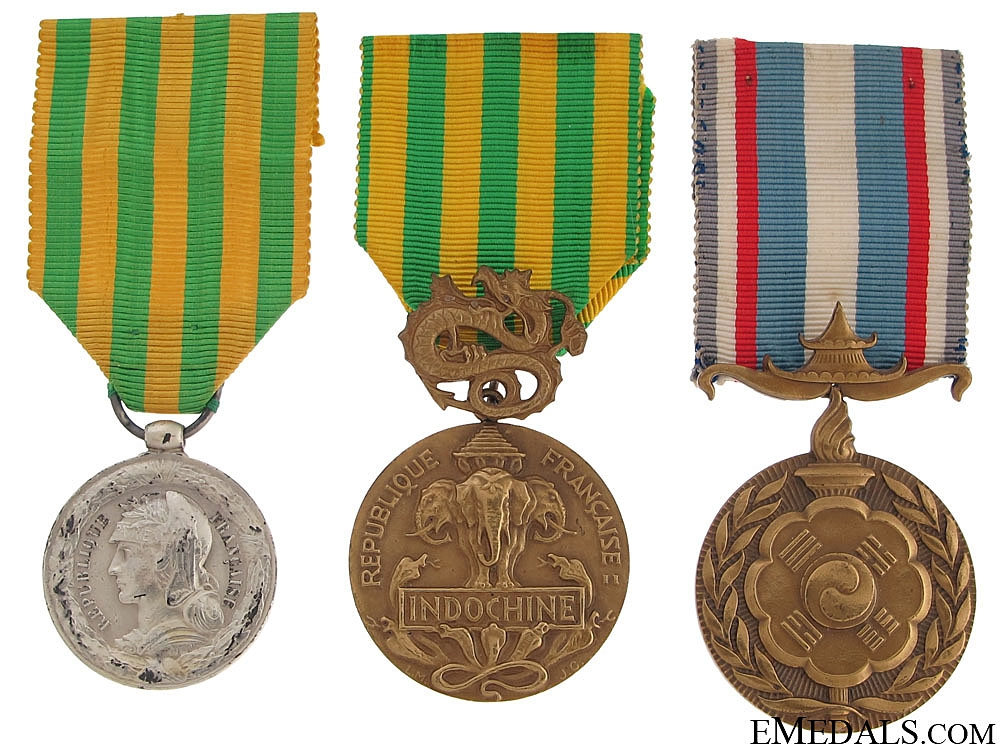 eMedals-Three French Medals