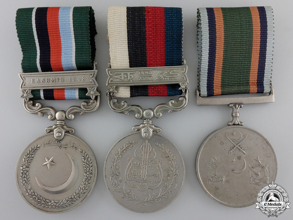 eMedals-Three Pakistani Medals & Awards