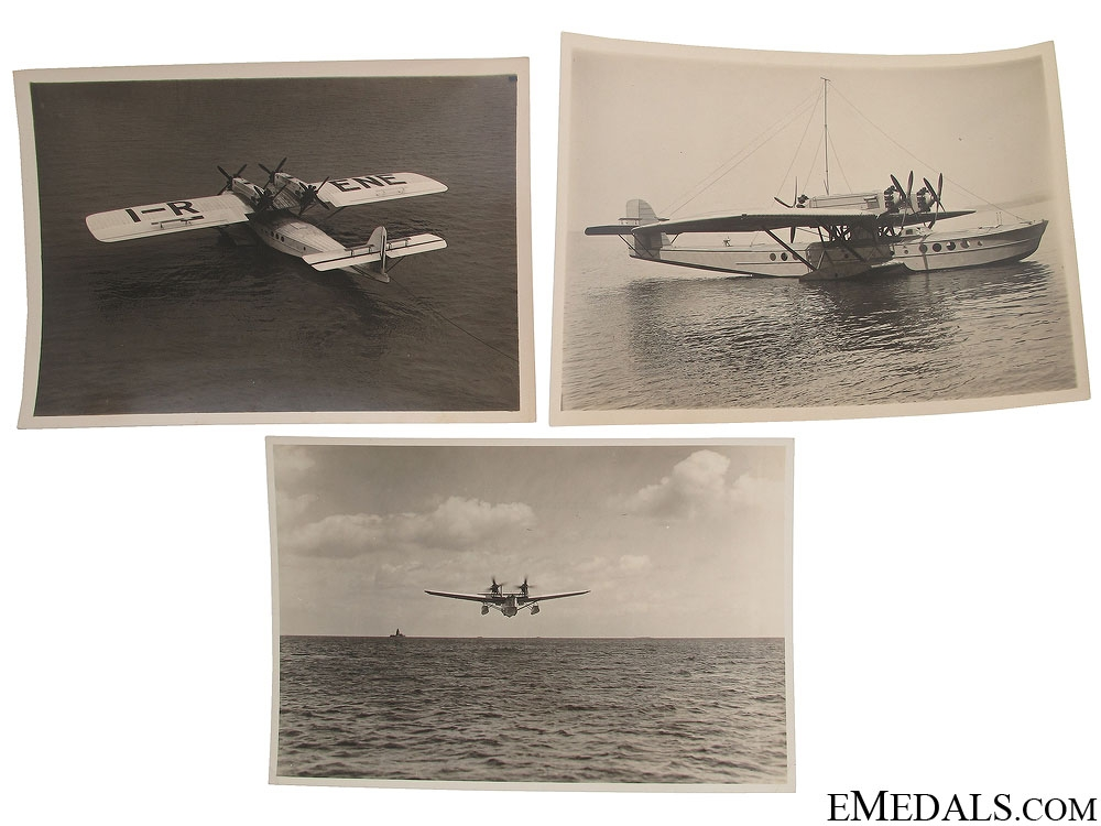 eMedals-Three WWII Seaplane Photographs