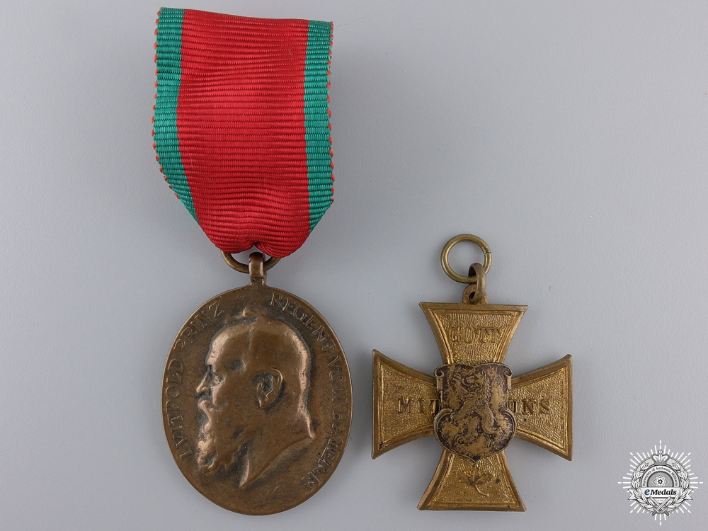 eMedals-Two Bavarian WWI Medals