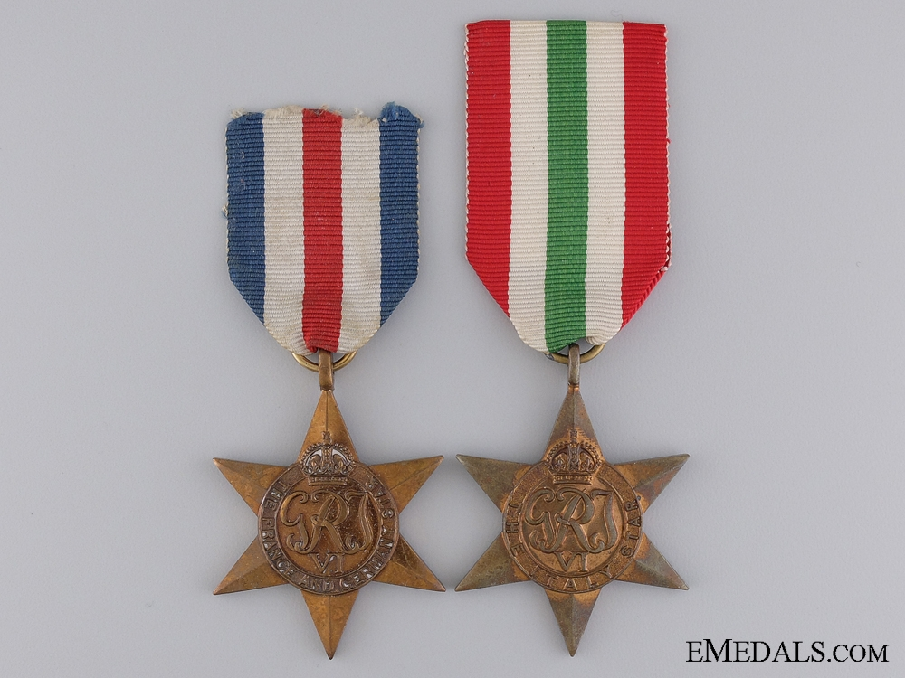 eMedals-Two British Second War Campaign Stars