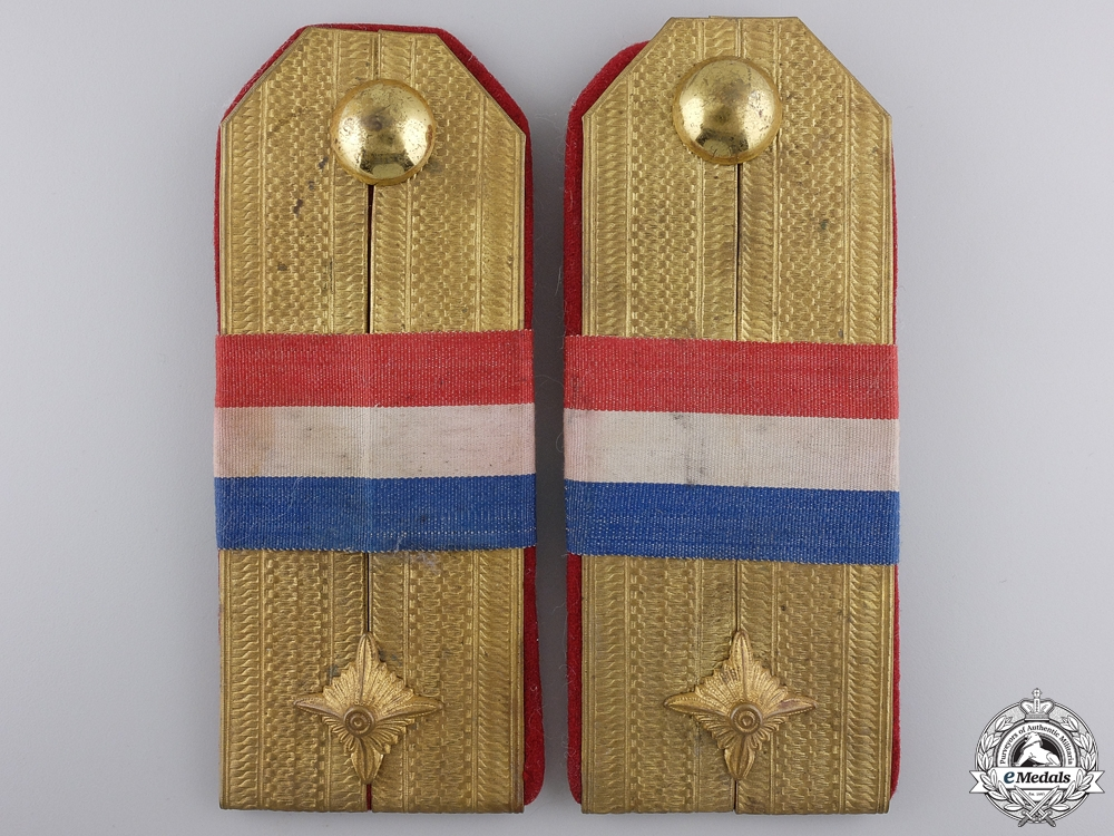 eMedals-Two Early Second War Croatian Officer's Boards