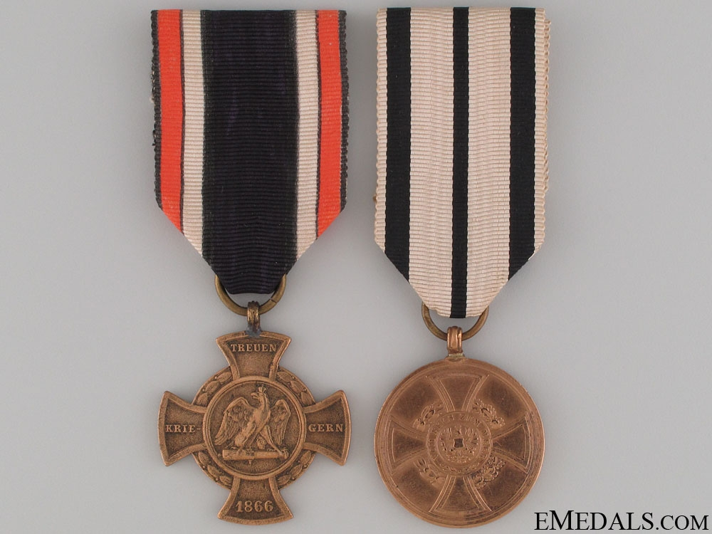 eMedals-Two German Campaign Medals