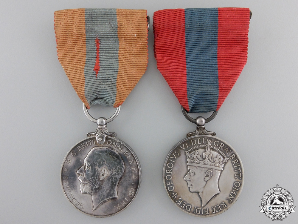 eMedals-Two Imperial Service Medals