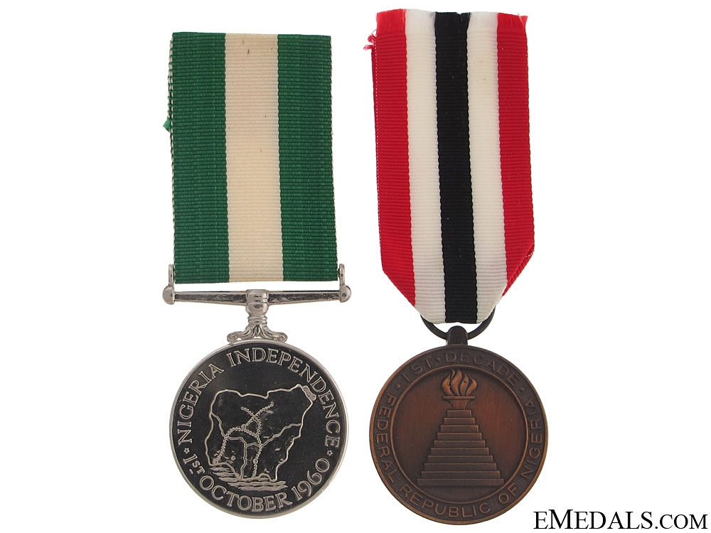 eMedals-Two Nigerian Medals