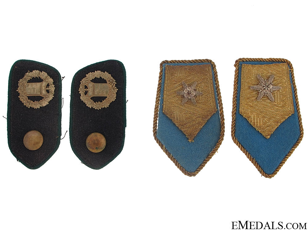 eMedals-Two Pairs of Italian Collar Tabs