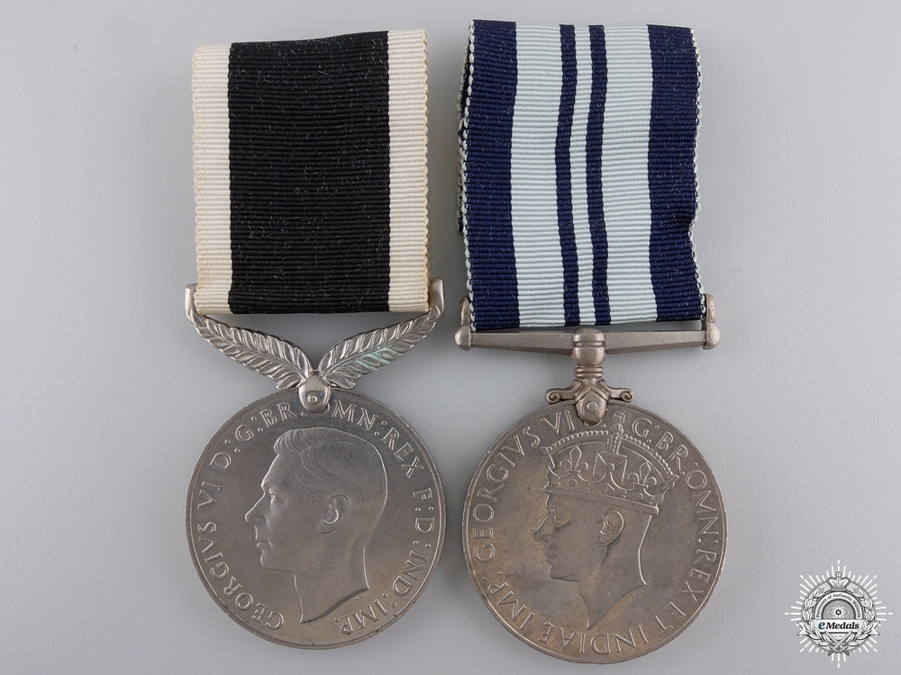 eMedals-Two Second War Service Medals; India & New Zealand