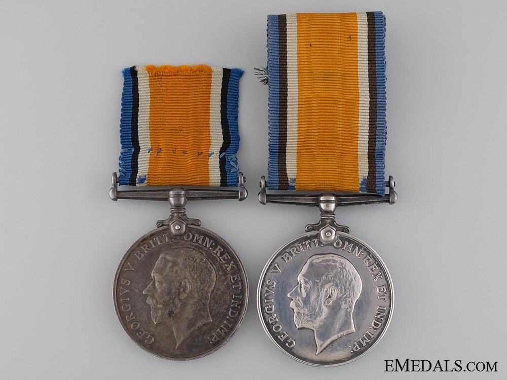 eMedals-Two WWI British War Medals; Yorkshire & Royal Artillery