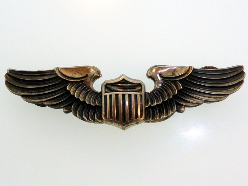 eMedals-AAF Pilot Wing in Sterling