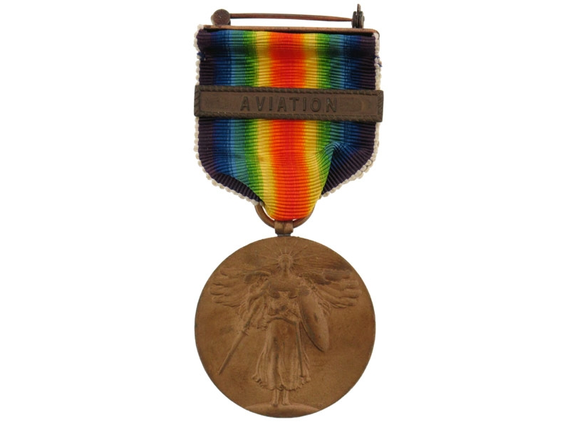 eMedals-Victory Medal-Aviation Clasp