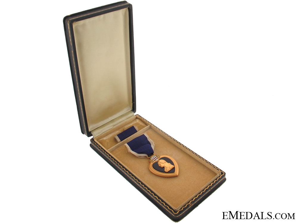 eMedals-Purple Heart Awarded for Wounds in U-Boat Attack