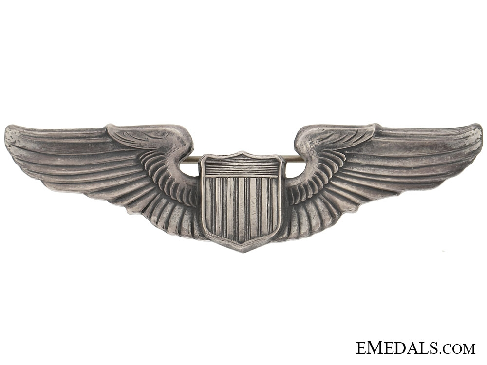eMedals-WWII USAAF Pilot wing
