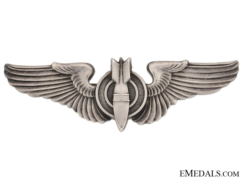 eMedals-WWII Period Bomber Wing