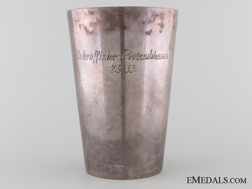 eMedals-Wehrmacht, Drinking Cup/Shooting Award,1933