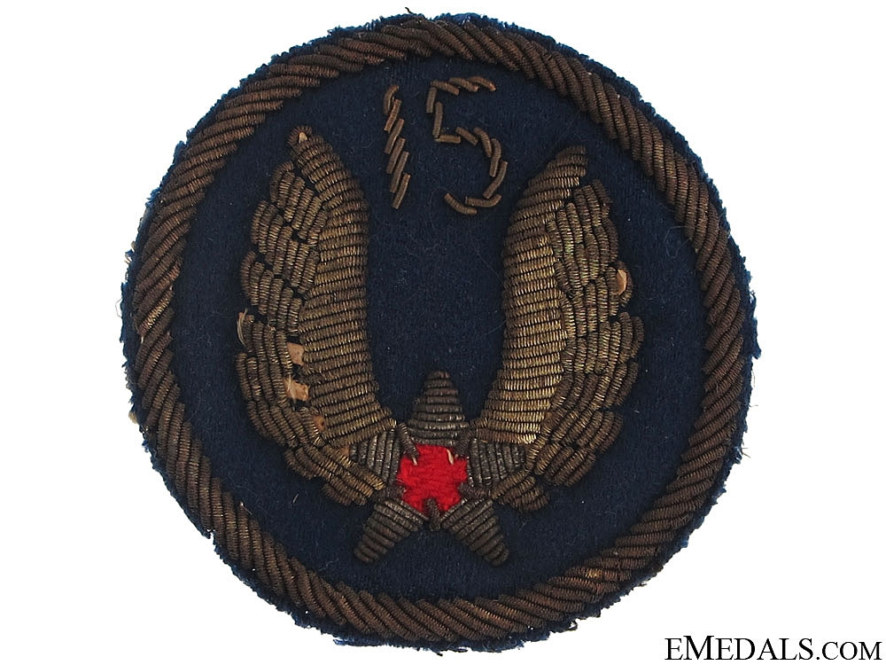 eMedals-WII USAAF 15th Air Force Sleeve Insignia
