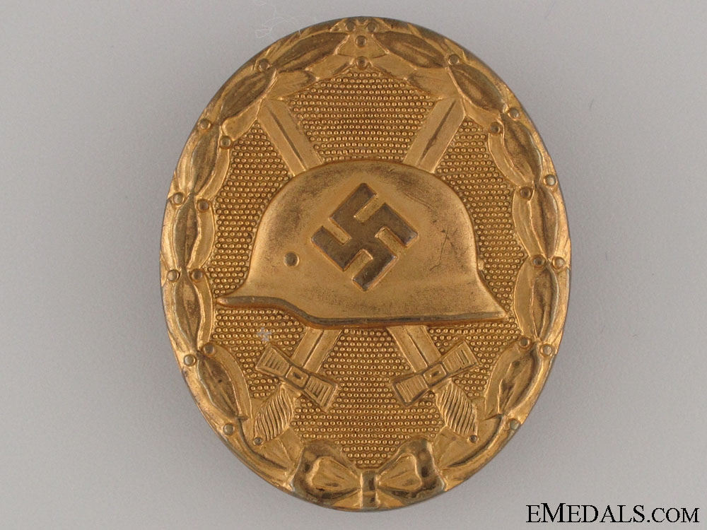 eMedals-Wound Badge - Marked Gold Grade