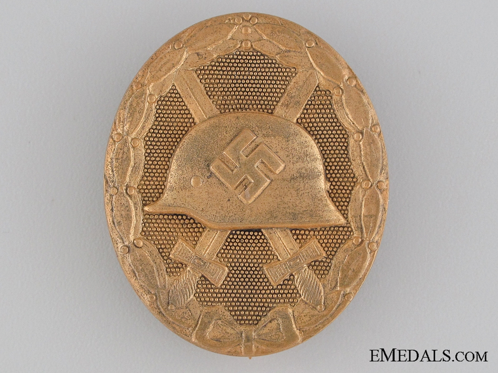 eMedals-Wound Badge; Gold Grade by Marker 30