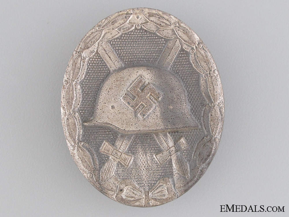 eMedals-Wound Badge; Silver Grade