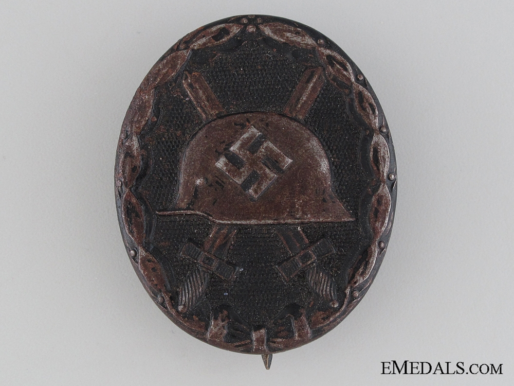 eMedals-Wound Badge Black Grade- Marked
