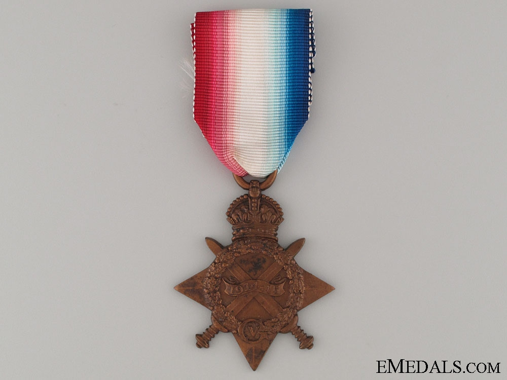 eMedals-WWI 1914-15 Star - Indian Telegraph Department