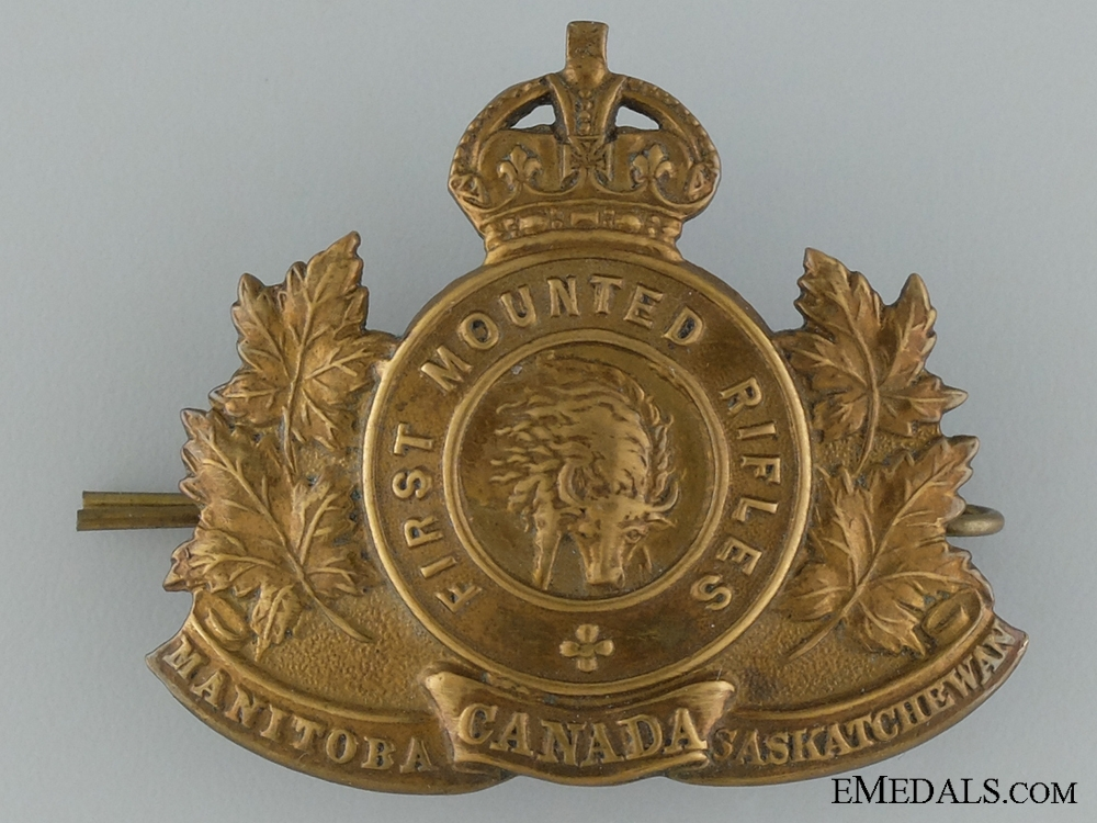 eMedals-WWI 1st Mounted Rifle Battalion Cap Badge
