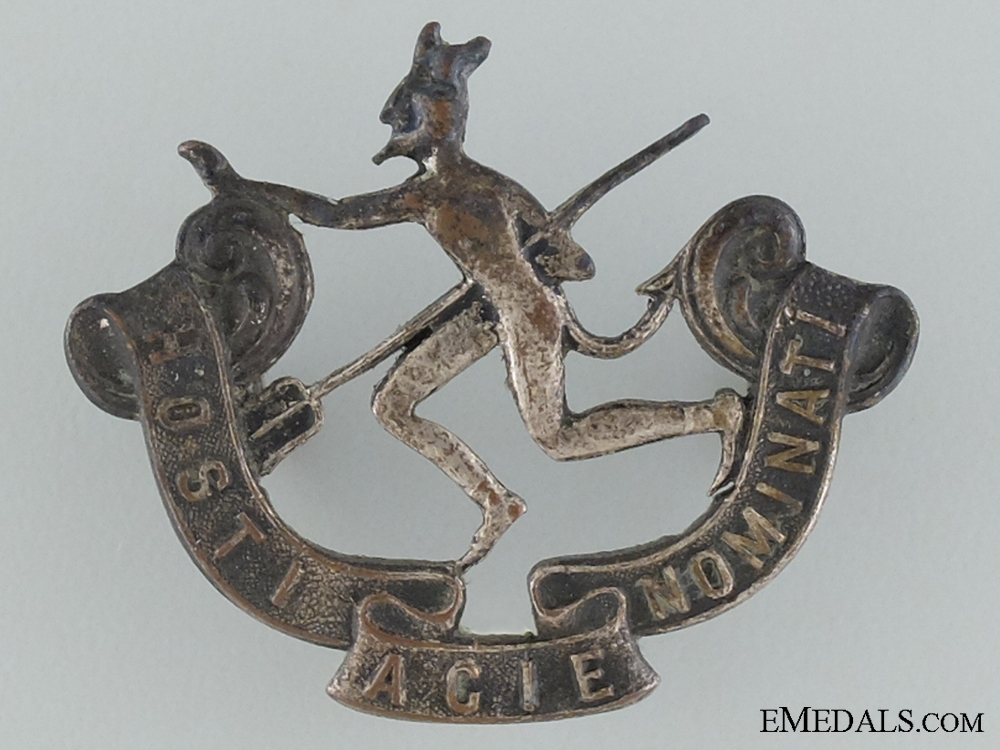 eMedals-WWI 8th Infantry Battalion Officer's Collar Badge CEF