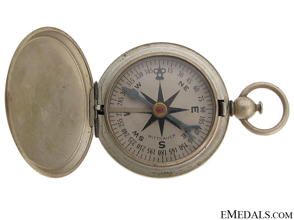 eMedals-WWI Army Issue Witnauer Pocket Compass