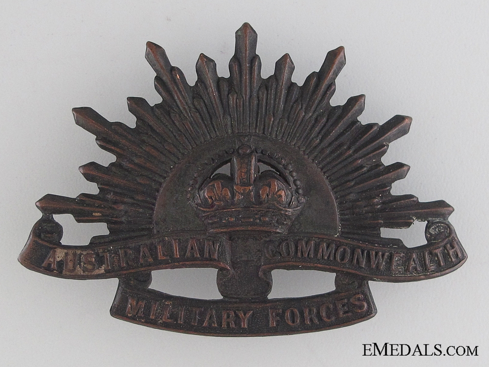 eMedals-WWI Australian Military Forces Cap Badge