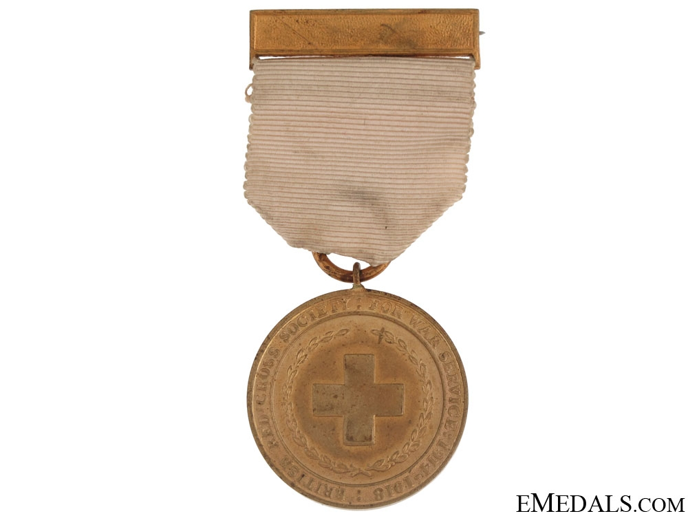 eMedals-WWI British Red Cross Society Medal for War Service