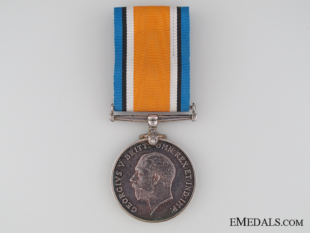 eMedals-WWI British War Medal to the Suffolk Regiment