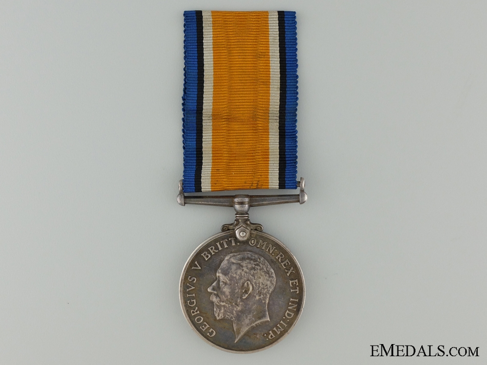 eMedals-WWI British War Medal to The Queen's Regiment