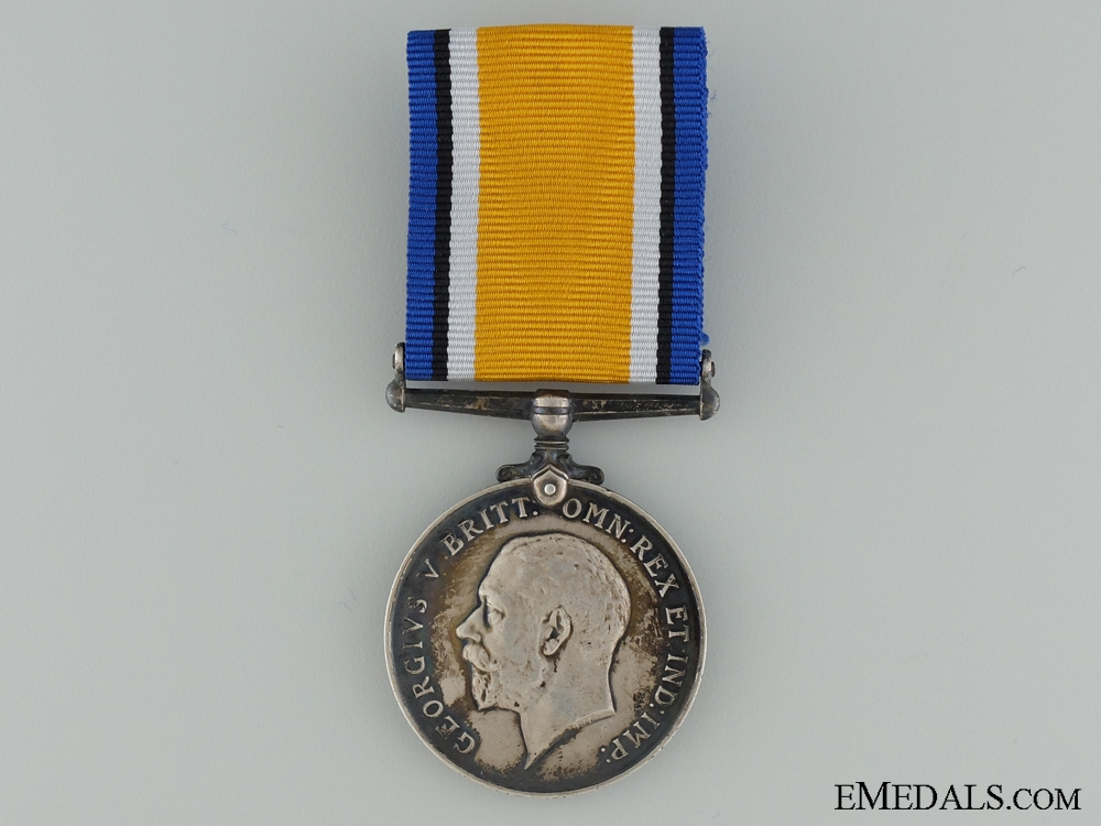 eMedals-WWI British War Medal to the Canadian Cavalry Brigade